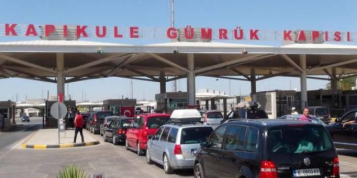 Kapıkule ve İpsala'da rüşvet operasyonu: 14 memur gözaltına alındı