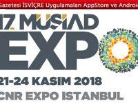 17. MÜSİAD EXPO'da iş fırsatı