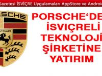 Porsche, İsviçreli teknoloji şirketi WayRay'e yatırım yaptı