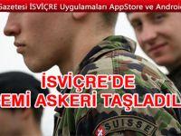 İsviçre'de tepki çeken askeri eğitim