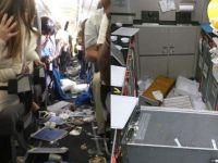 Uçakta korku dolu anlar: yolcular büyük Panik yaşadı