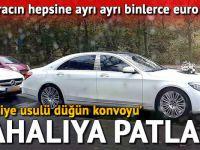 Türkiye usulü düğün konvoyuna ceza yağdı