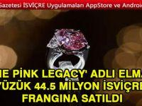 İsviçre'de elmas yüzük rekor fiyata satıldı