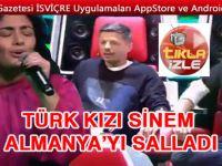 Türk kızı Sinem Almanya'yı salladı