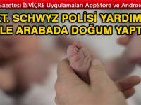 POLİS YARDIMI İLE ARAÇ'TA, HEMDE ARIZA ŞERİDİNDE DOĞUM YAPTI