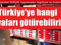 Türkiye'ye hangi eşyaları gümrük ödemeden sokabilirim?