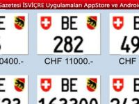 İsviçre'nin Başkentinde otomobil plaksı savaşı