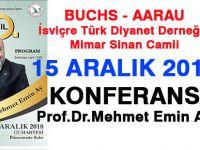 Konferans: Prof.Dr.Mehmet Emin Ay