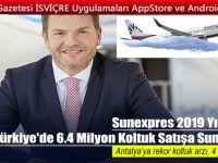 Sunexpres 2019 Yılında Türkiye'de 6.4 Milyon Koltuk Satışa Sunacak