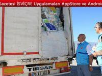 Türk Diyanet Vakfı, Suriye'ye 316 TIR yardım etti