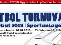 Salon Futbol Turnuvası 17 Şubat'ta