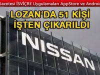 Lozan'da 51 kişi işten çıkarıldı