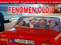 """Plakasını """"Türk"""" yaptıran gurbetçi arabalarıyla adeta fenomene dönüştü"""