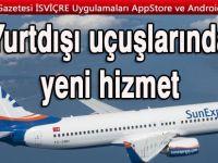 SunExpress: Uçak içinde yeni bir hizmet