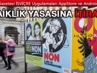 Cenevre Kantonunun Laiklik yasasına itiraz ediliyor