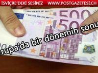 500 Euro 26 Nisanda tedavülden kalkıyor