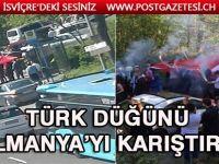 Türk düğünü Almanya'yı karıştırdı