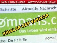 Cenevre ve Zurih'te ev kiraları cep yakıyor