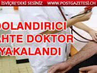 Schaffhausen'de diplomasız doktor tutuklandı