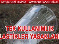 AB'de plastik ürünler yasaklandı
