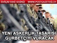 Yeni askerlik sistemi yasa teklifi