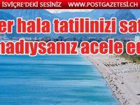 Türkiye rezervasyonlarında BÜYÜK artış var