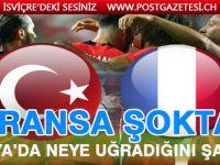 Türkiye 2-0 Fransa (Maç sonucu)