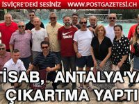 TİSAB,  Antalya'ya çıkartma yaptı