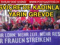 İsviçre'de Kadınlar, 14 Haziran'da Saat 15:24'te Grevde