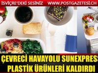 Sunexpress plastik ürünleri kaldırdı
