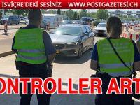 İsviçre'de trafik kontrolleri sıklaştırıldı