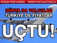 Dünya'da uçak bilet fiyatları düşerken Türkiye'de yükseldi