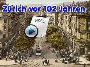Zürich tam 102 Yıl önce nasıldı Merak ediyormusunuz?