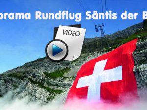 Säntis dağı eteğine Çıkış