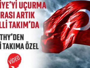 Türkiye'yi uçurma sırası artık Milli Takım'da!