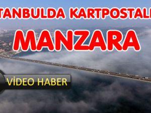 15 Temmuz Şehitler Köprüsü'nden kartpostallık görüntü
